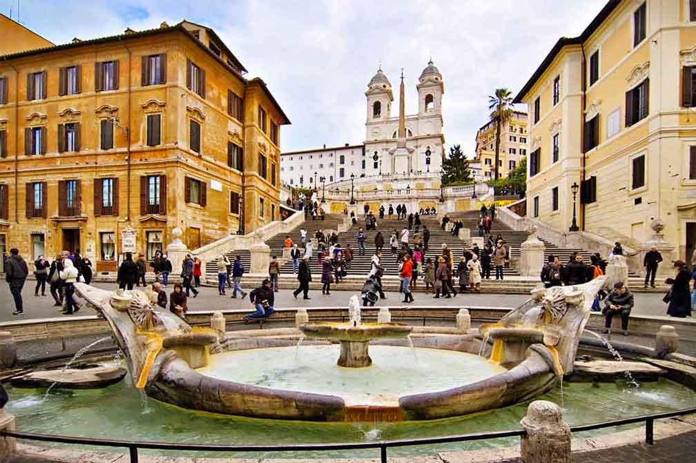 piazza di spagna rzym