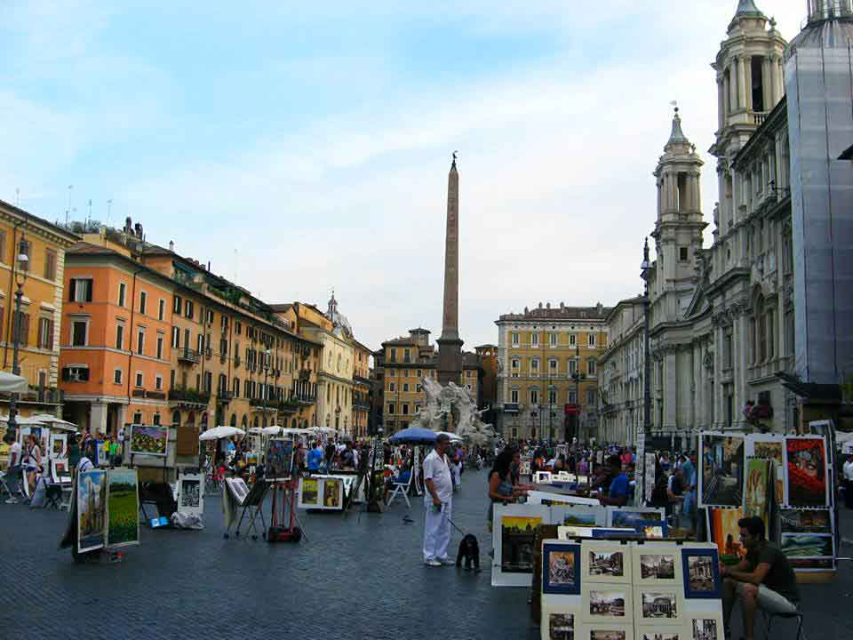 piazza navona rzym