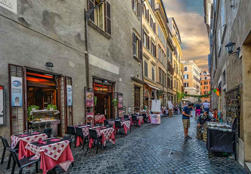Rzym Smaki Wiecznego Miasta