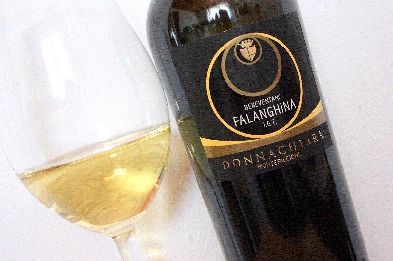 Degustacja wina - Falanghina