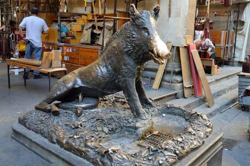 fontanna prosiaczek, Florencja