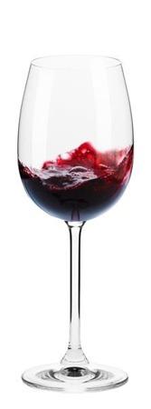 kieliszek czerwonego wina