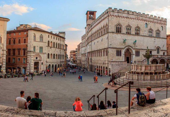 Perugia - miasto wyjatkowe 365 dni w roku