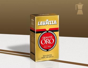 Kawa włoska mielona - Lavazza qualità oro