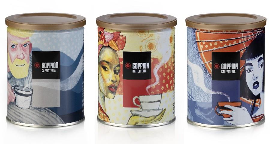 włoska kawa marki goppion