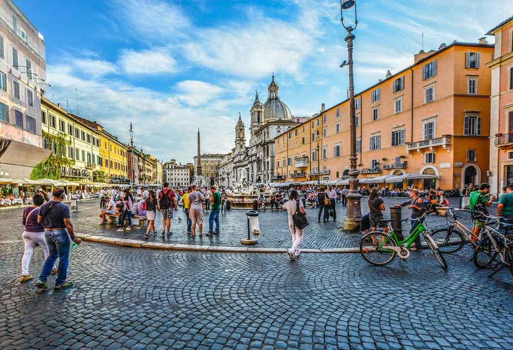 I trasa - Rzym antyczny - Piazza Novona
