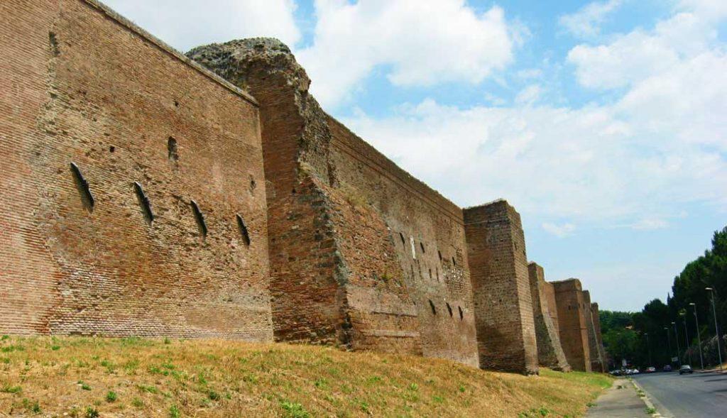 mury rzym