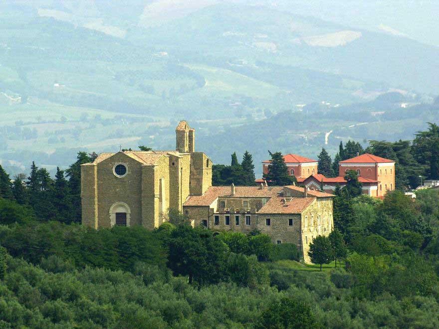 Kościół San Bevignate w Perugii