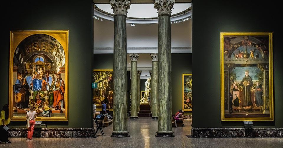 mediolan pinacoteca di brera
