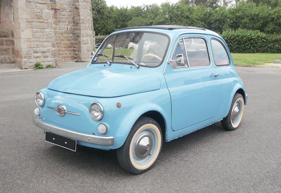 włoski design fiat nuova 500