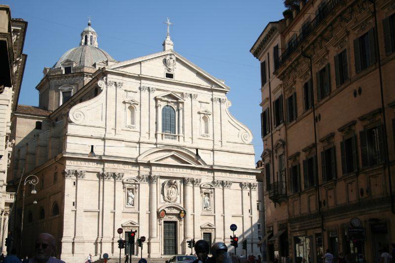 il gesu kościół w rzymie