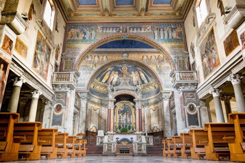 kościoły  w rzymie kościół św. praksedy w rzymie