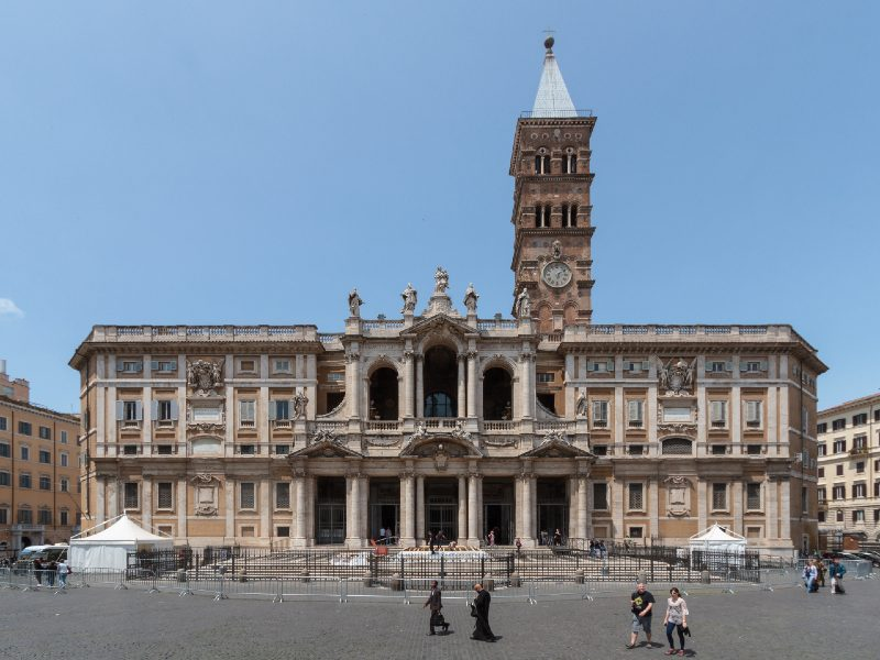 rzym kościoły santa maria maggiore