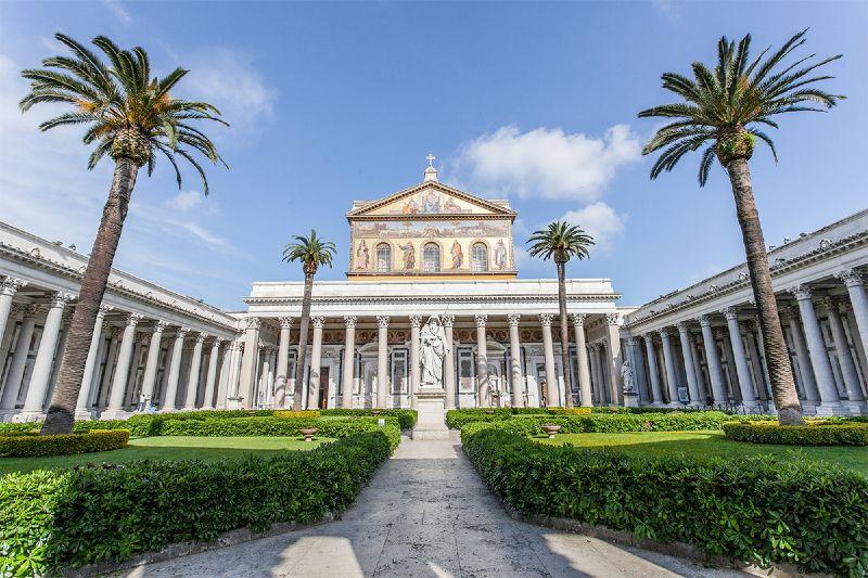 san paolo fuori le mura kościoły w rzymie