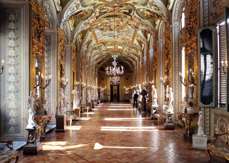 galeria doria pamphili muzea w rzymie