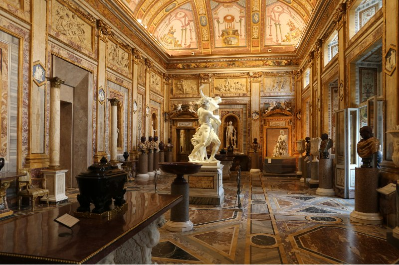 galleria borghese rzym muzea