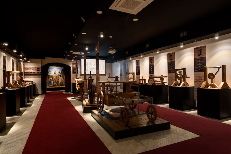 rzym muzeum leonarda da vinci leonardo da vinci experience