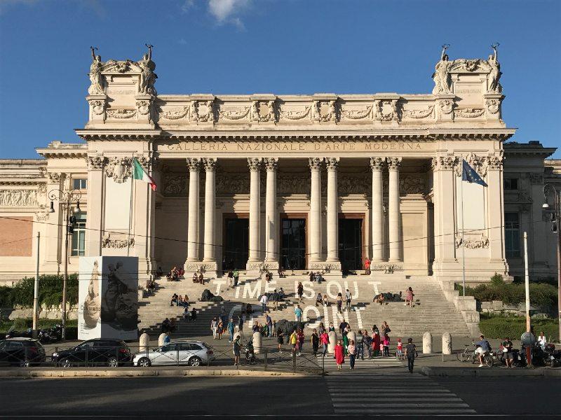 rzym muzeum sztuki nowoczesnej
