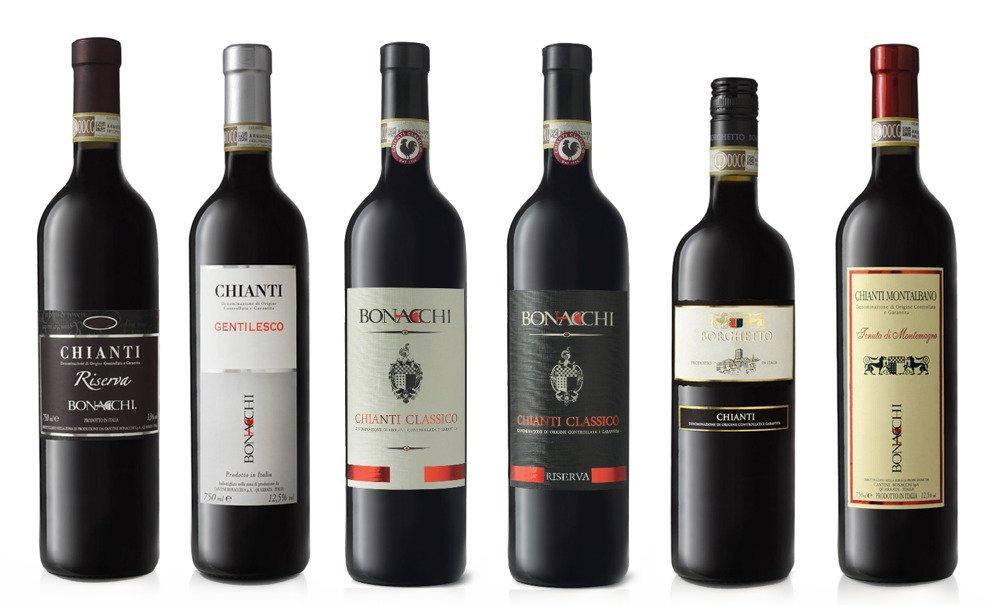 wina toskanii chianti