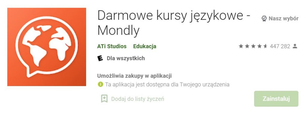 mondly opinie