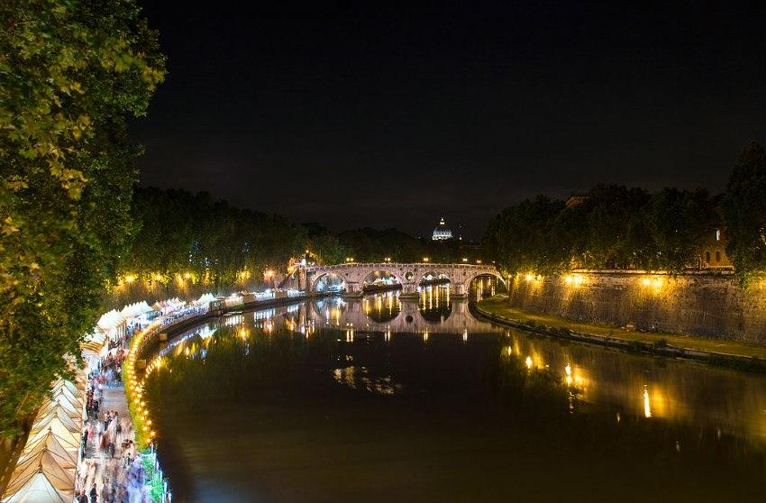 lungotevere rzym nocą gdzie pójść