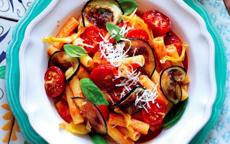 alla norma włoski sos do makaronu