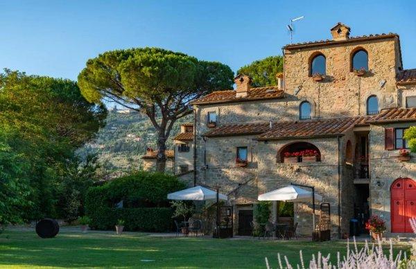domy w toskanii monastero san silvestro
