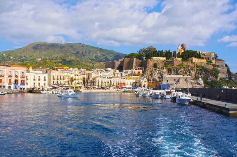 włoskie wyspy lipari