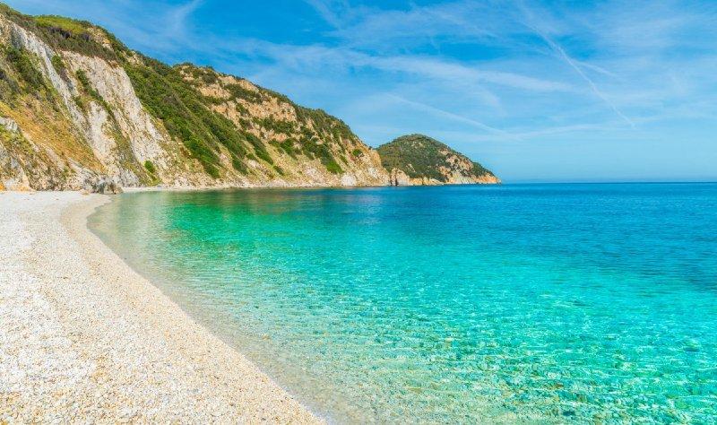 wyspa elba spiaggia sansone