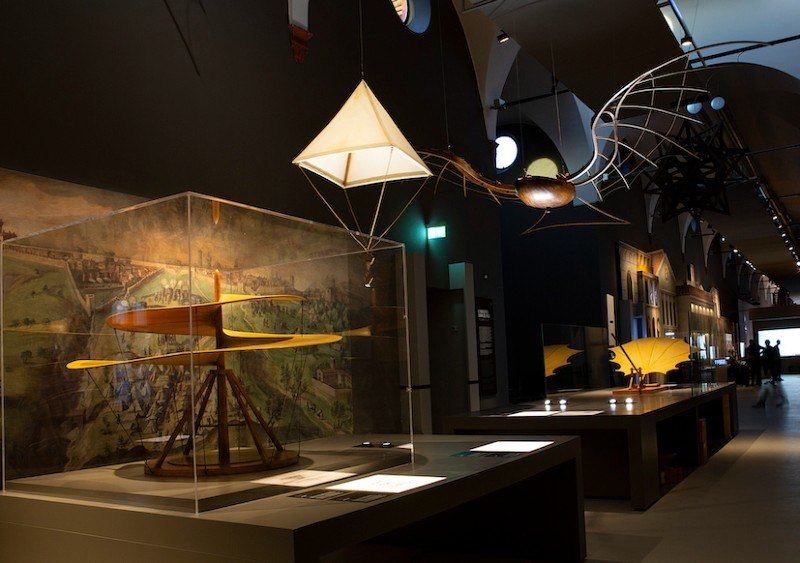 muzeum leonarda da vinci mediolan