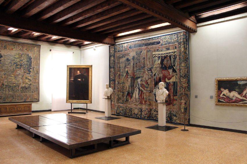 galleria giorgio franchetti muzea w wenecji