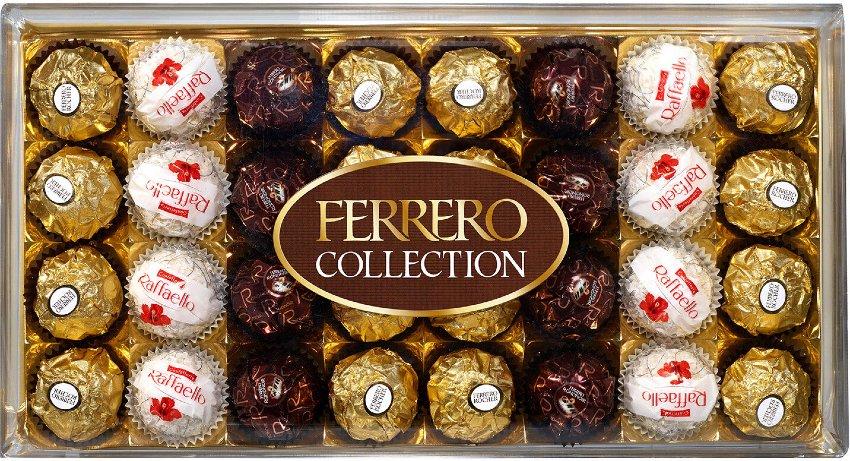 słodycze włoskie ferrero