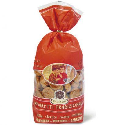 Gadeschi Amaretti Tradizionali kruche ciasteczka 375g